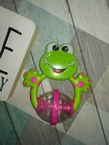 Погремушка-лягушка, грызунчик Чикко,Chicco