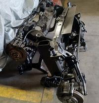 Kit charriots MG TF para colocar MGF