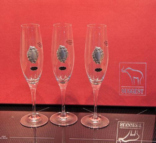Komplet ekskluzywnych kieliszków do szampana Suggest Włochy 6szt.