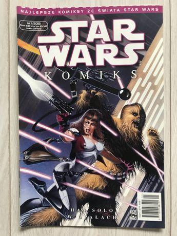 KOMIKS STAR WARS Han Solo w opałach