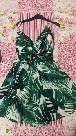 Vestido/macacao florido