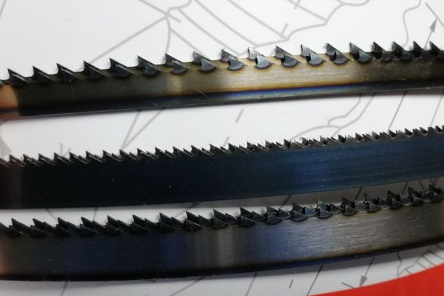 Mocna Niemiecka Piła taśmowa stolarska LEWHARD 10x1400 mm