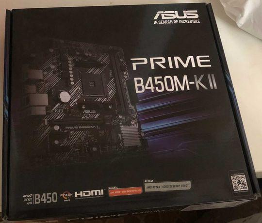 Материнская плата Asus Prime B450M-K II sAM4