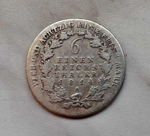 200) NIEMCY Prusy -  1/6 Talara - 1814 r. A