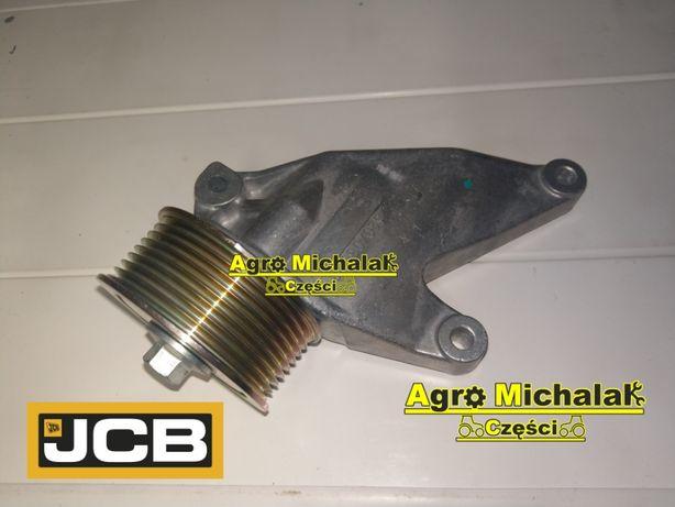 Koło , rolka prowadząca z podstawą bez klimatyzacji JCB 3CX, 4CX