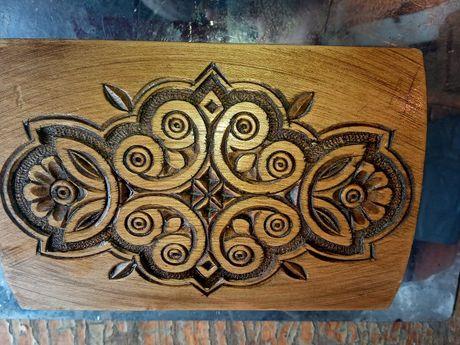 Шкатулка деревянная ручной работы