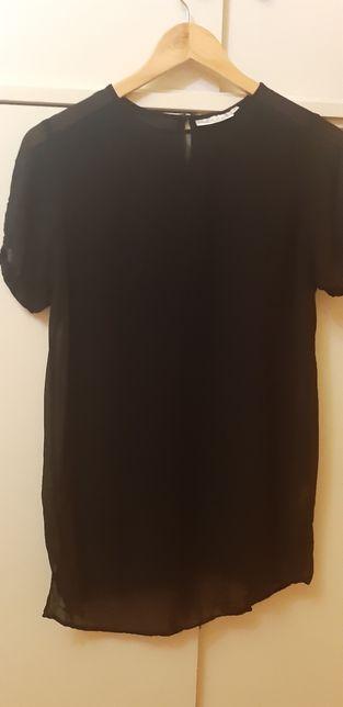 Elegancka czarna bluzka Hennes 40