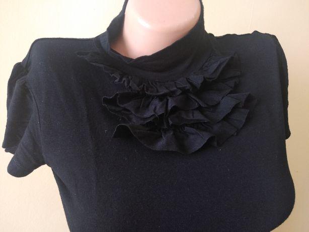 Mohito czarny gotycki z krótkim rękawem