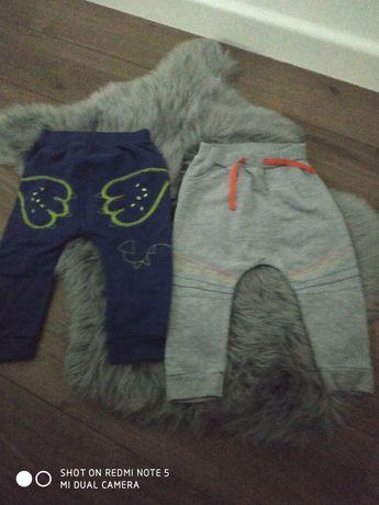 Spodnie dresowe dla choopca 98 cm. Cena za całość