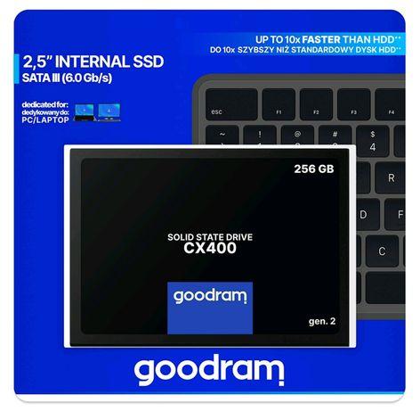 Dysk SSD GOODRAM CX400 256GB SATA3 550/490 MB/s