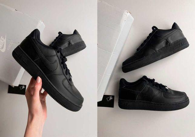 Кроссовки Nike Air Force 1 Low (Gs) Black 314192-009