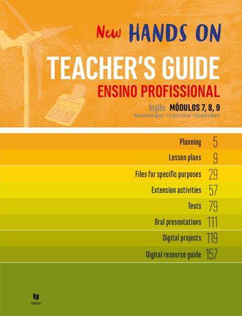 New Hands On 7 | 8 | 9 - Teacher's Guide