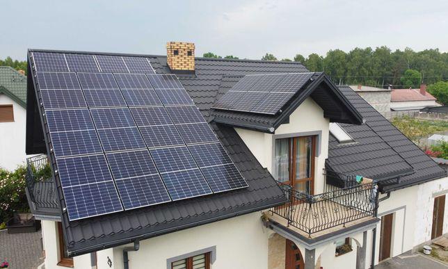 Instalacja fotowoltaiczna Panele słoneczne Fotowoltaika Dotacja