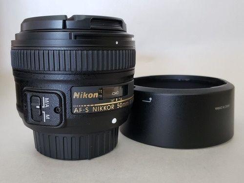 Nikon Objetiva AF-S Nikkor 50mm f/1.8G