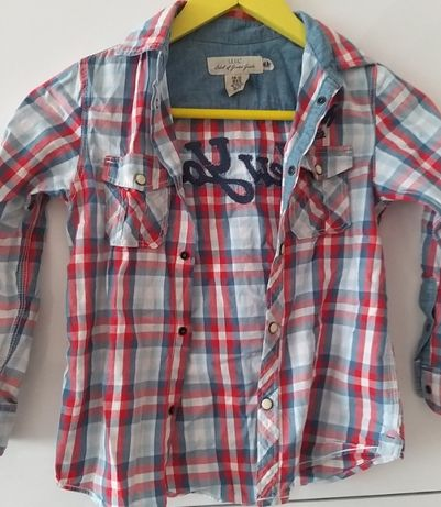 Koszula chłopięca H&M 122
