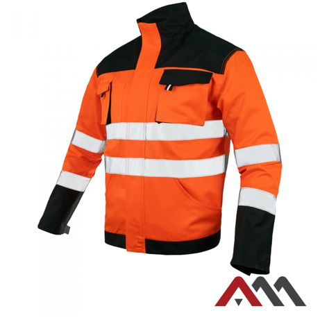 Куртка сигнальная/ куртка рабочая Польша/ куртка робоча сигнальна