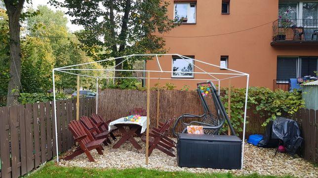 Namiot ogrodowy konstrukcja 3mx4m