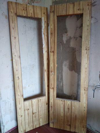 Двери межкомнатные (двойные)