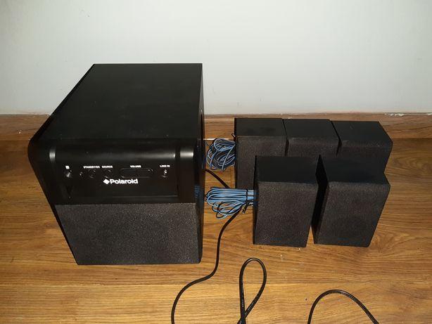 Głośniki Polaroid ASR1551E2L 5:1 nowe nieużywane stan idealny