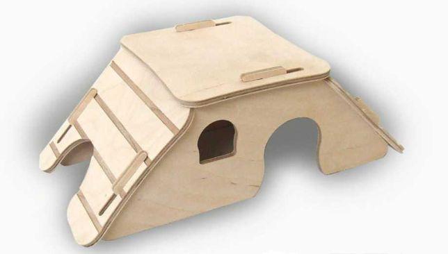 Domek dla chomików, myszek, koszatniczek