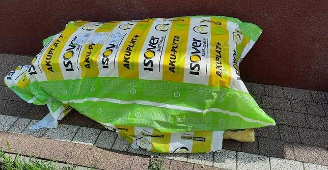 Wełna mineralna ISOVER SUPER cena za około 10m2 = 1 paczka