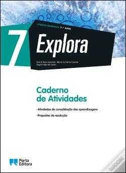 """Caderno de atividades """"EXPLORA FISICO QUIMICA 7 ANO"""""""