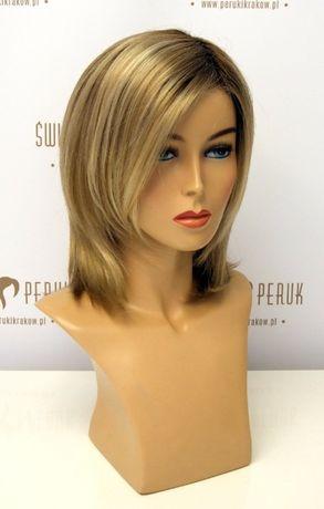 Peruka półdługa z włosów syntetycznych Kraśnik