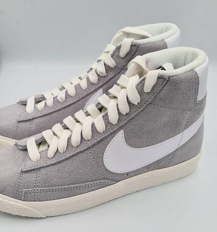 NOWE Nike Blazer Mid GS rozm 35,5 22,5 cm szare sportowe vintage retro