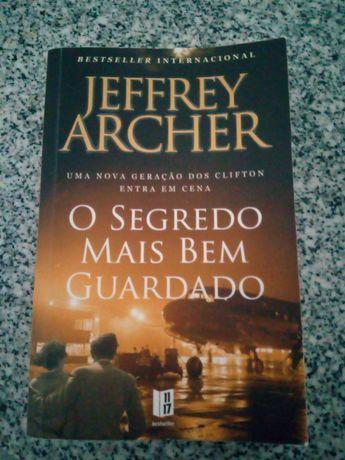 """Livro """" O segredo mais bem guardado"""" de Jeffrey Archer"""