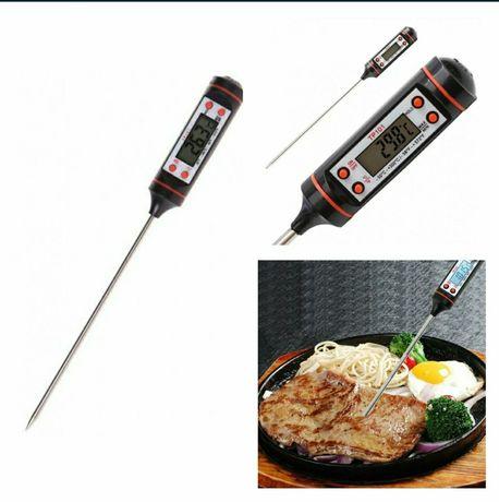 Термометр электронный кулинарный с щупом кухня техника
