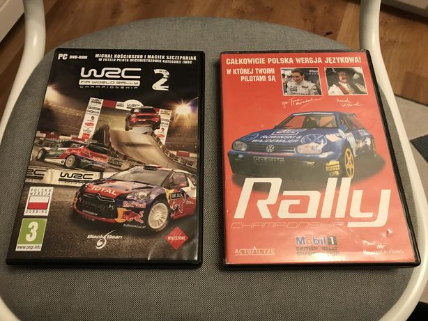 Pakiet 11 gier na PC; WRC2, Sega Rally, Tajne Akta 2 i inne