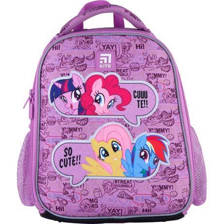 Новинка!Рюкзак школьный каркасный бренд Kite My Little Pony LP21-555S