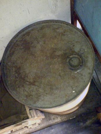 бочка металлическая