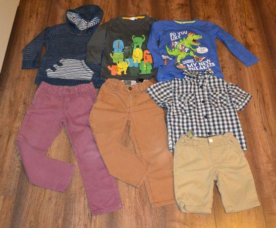 Ubranka dla chłopca zestaw Rebel H&M Cherokee spodnie koszula roz. 104