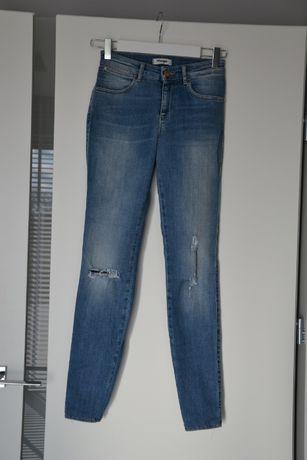 Spodnie jeansy rurki Wrangler