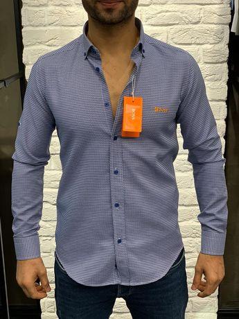 Męska koszula HUGO BOSS - L