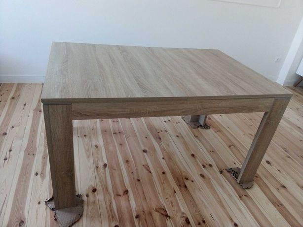 Stół rozkładany brązowy