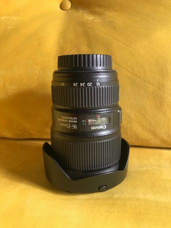 Canon EF 16-35 F4 L серія