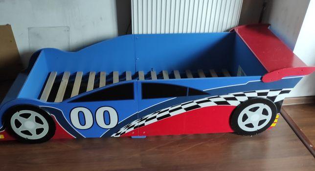 Łóżko dla chłopca autko