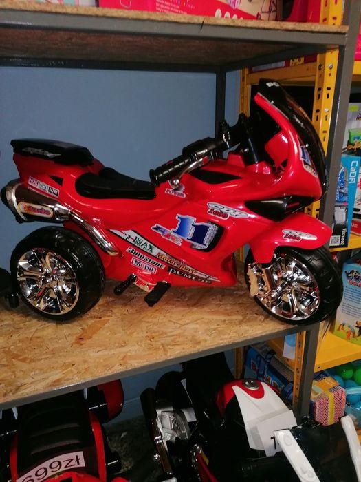 Duży motor motorek 3 kołowy dla dzieci na akumulator sklep wysyłka Trzebinia - image 1