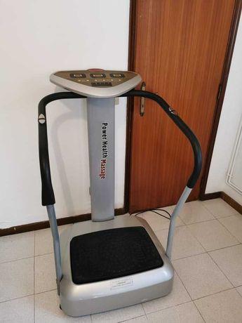Plataforma vibratória vibroplate ginásio Power Health -envio todo país