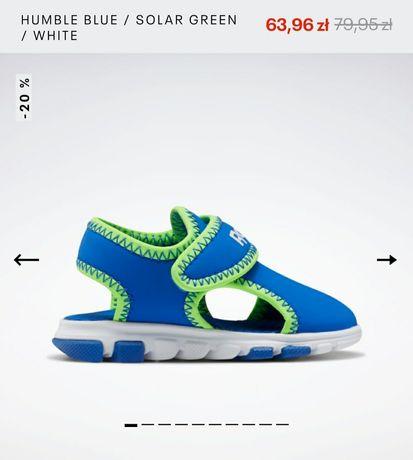 Sandałki Reebok 24,5 nowe wkładka 15,2 cm