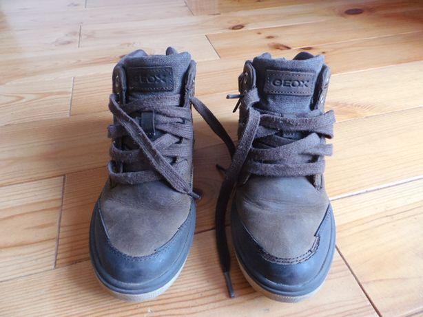 Buty wysokie tenisówki GEOX