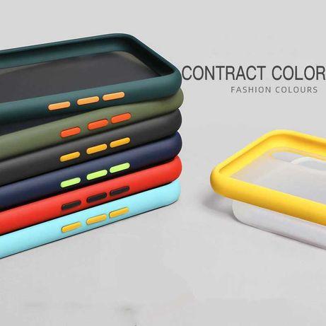 Противоударный s9 Matte color s8 матовый чехол Samsung Galaxy s10 plus