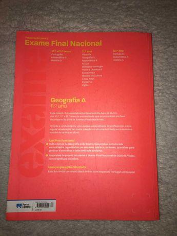 Livros para preparação de Exames Nacionais - Econ 11º / Geog 11º
