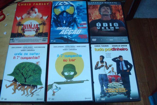 lote 15 dvds originais alguns rarissimos
