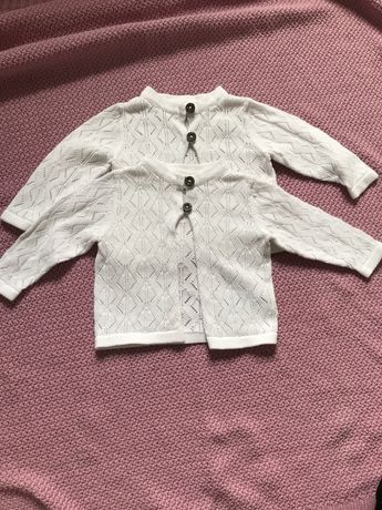 Sweterki dla bliźniaczek