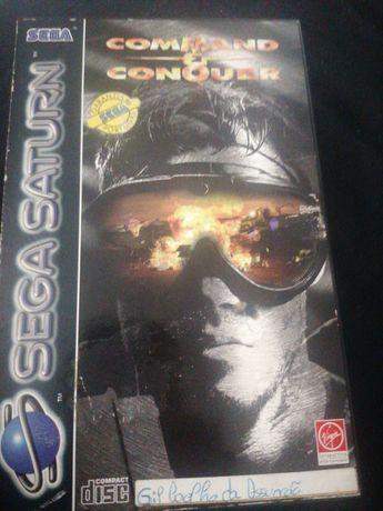 Command Conquer sega saturn