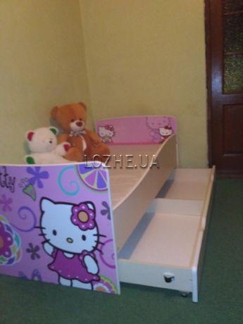 Дитяче ліжко з шухлядою. В наявності. Безкоштовна доставка по Україні