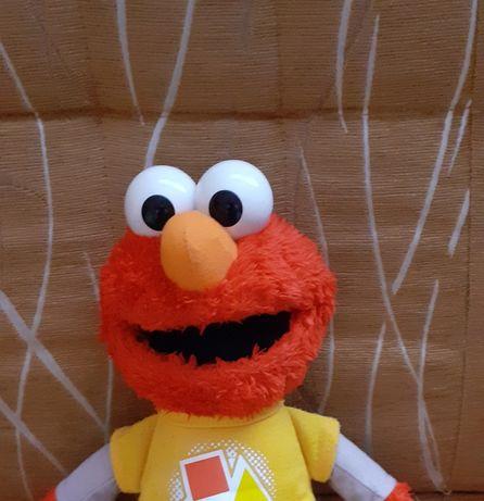 Gadający Elmo z Ulicy Sezamkowej+kilka książeczek